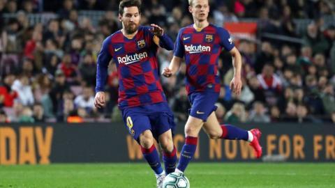 El Barcelona sin Messi y De Jong para el próximo partido de Champions