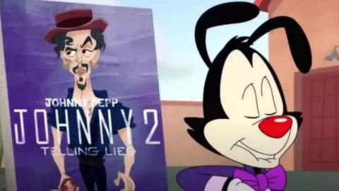 Acusan a Warner de burlarse de Johnny Depp en Animaniacs