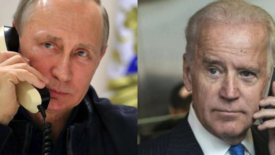 Joe Biden y Valdimir Putin sostienen su primera conversación telefónica
