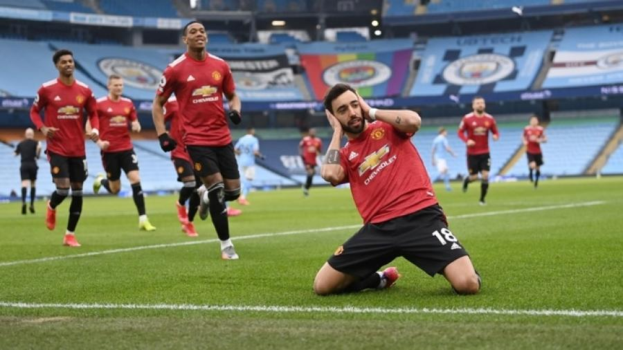 El United corta racha de 21 victorias del Manchester City