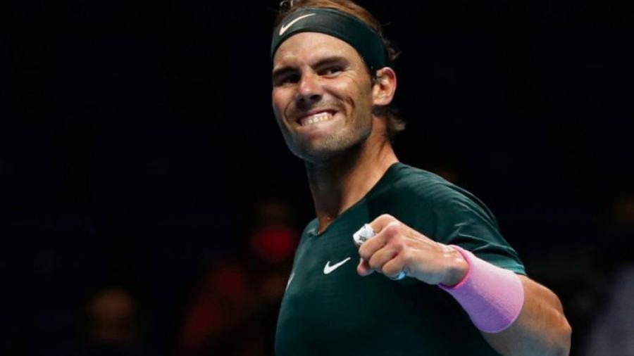 Rafael Nadal avanza a semifinales de la Copa Masters