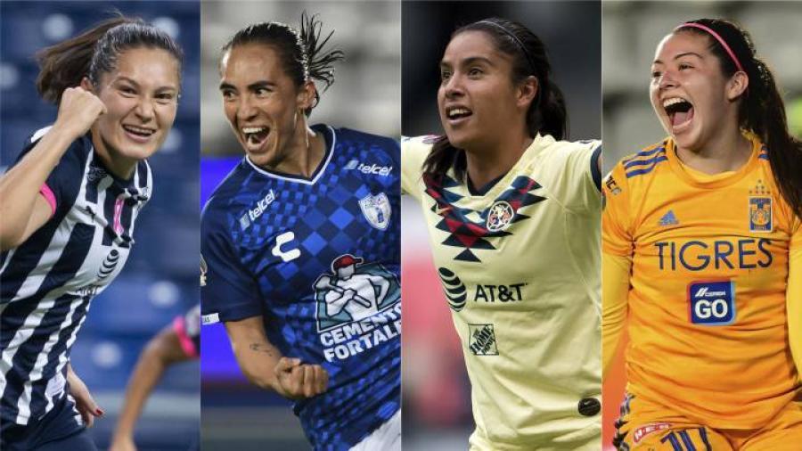 Así queda la Liguilla del Apertura 2020 en la Liga MX Femenil