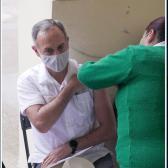 López-Gatell recibe vacuna contra el coronavirus