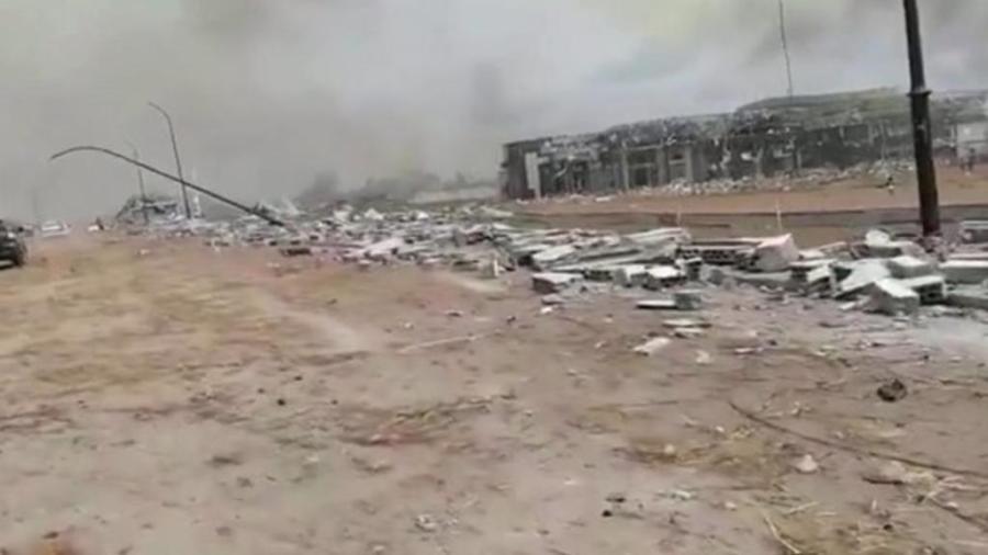 Al menos 20 víctimas por explosiones en Guinea Ecuatorial